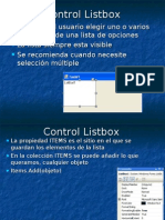 Control Listbox