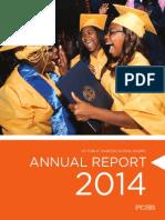 DC Public Charter School Board 2014 Annual Report