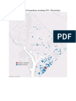 DC Public Charter School Student Location Maps for each School 2014