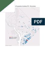 DC Public Charter School Student Location Maps for each School 2014