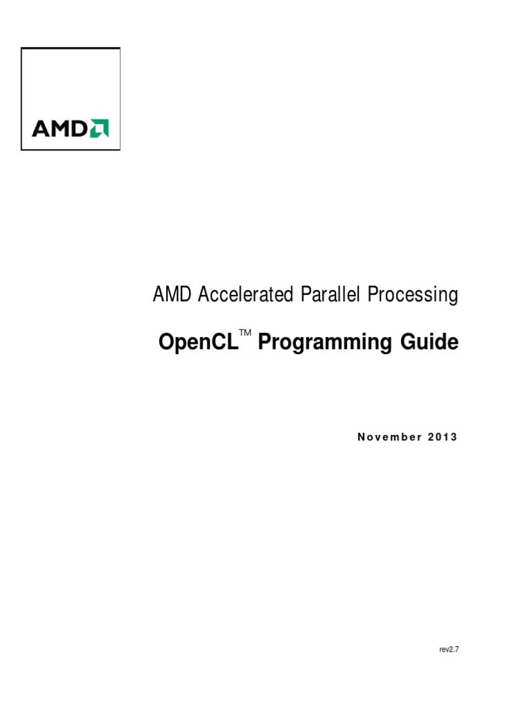 AMD Accelerated Parallel Proce...