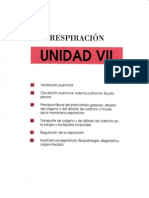 Unidad VII. FISIOLOGIA DE LA RESPIRACION