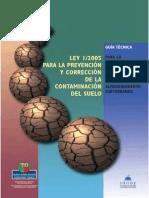 Guia Para La Evaluacion de La Contaminacion Del Suelo Por El Alamacenamiento de Tanques Subterraneos