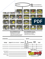 Tri Center Decal and Magnet Order Form 2014