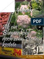 Duhonj-Gabersek, Claudia - Als Ein Blumenkohl Noch Zehn Pfennig Kostete