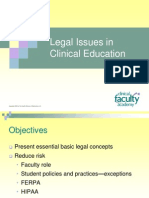 G-CFA PPT 3-1 Legal Issues