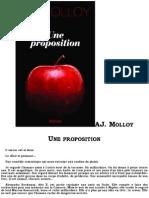 A.J Molloy - Une Proposition