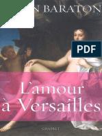 Alain Baraton - Amour a Versailles, L'