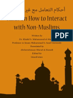 Rules on How to Interact With Non Muslims