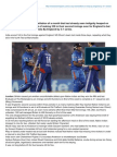 How India become Loser In 3rd ODI