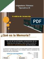 Unidad 3. Gestion de Memoria