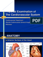 Physical Examination of CV