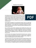Biografía de Sonia Silvestre