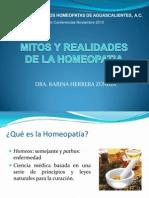 Mitos y Realidades de La Homeopatia