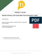 214048260 Histories of Errancy Oral Yoruba Abiku Texts and Soyinka s Abiku PDF