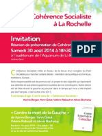 Cohérence socialiste à La Rochelle
