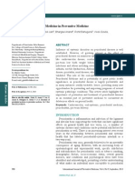 Essentials of Periodontal Medicine in Preventive Medicine