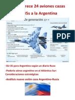 Rusia ofrece 24 aviones cazas SU-35S a la ARGENTINA.docx