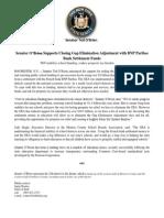 07-29 O'Brien Supports Eliminate GEA w Bank Settlement Money