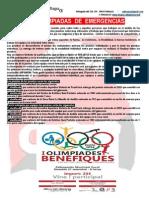 I Olimpiades d'Emergències - Puçol 27-09-2014