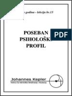 P-13-B Poseban Psiholoski Profil