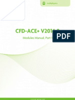Manual for CFD-ACE software v2014
