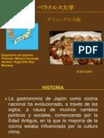Exposición de Comida Japonesa