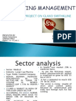 Galaxo Smith Kline ppt sector analysis