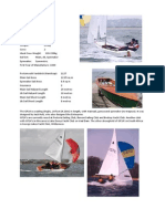 Summary of Dinghy Classes