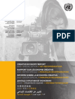 Creative Economy Report2013 Key Recommendations