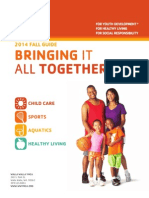 YMCA 2014 Fall Program Guide