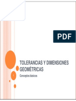 Tolerancias Geométricas I