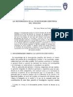 La Metodología de La Investigación Científica Del Derecho