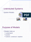 Distributed Systems - System Models