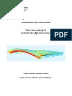 Jankowski Tadeusz Post Tensioning in Concrete Bridge Structures