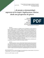 Relaciones de Pareja y Depresión .Alicia Moreno
