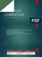 DISCURSOS AMBIENTALES