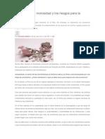 Microfinanzas, Morosidad y Los Riesgos Para La Sociedad