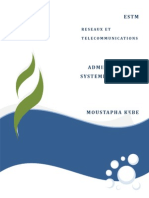 Administration Système Sur Linux