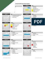 2014-2015 evpp calendar