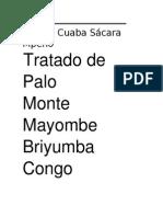 Firmas de Palo Monte