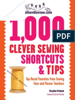 1,000 Clever Sewing Shortcuts and Tips