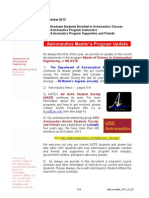 USC ASTE 2013 Information