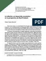 2008; Inflación y Desarrollo en La Parspectiva de Prebisch