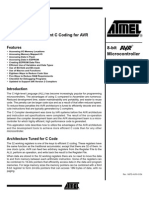 BIT OPERATIONs - Atmel MegaAVR ATmega48 Learning Centre MCU Application Notes Atmel.application Notes 9