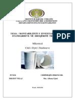 Kontabiliteti i Inventarëve Sipas Standardeve Në Shoqëritë Tregtare