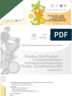 5ProduccionDeSaberSistematizacionOndas