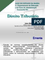 Slides - Direito Tributário