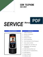 Samsung SGH-D807 Service Manual