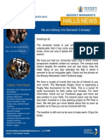 Manawatu Halls News Issue Five 2014